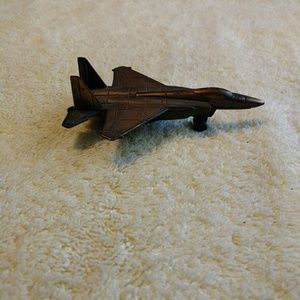 Vintage playing jet pencil sharpener metal